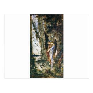 Carte Postale Soirée et peine par Gustave Moreau