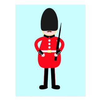 Carte Postale Soldat britannique
