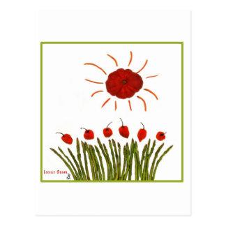 Carte Postale Soleil de tomate