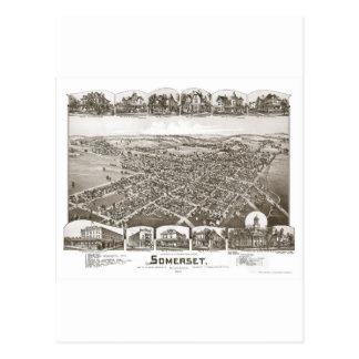 Carte Postale Somerset