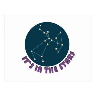 Carte Postale Son dessus le Sagittaire d'étoile