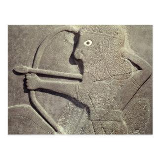 Carte Postale Soulagement dépeignant chasseur, de Dites-Halaf,