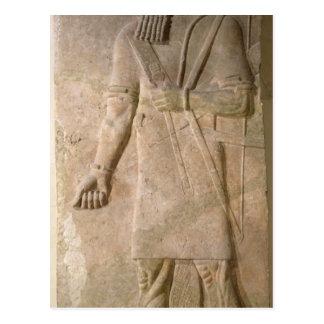 Carte Postale Soulagement d'un guerrier assyrien