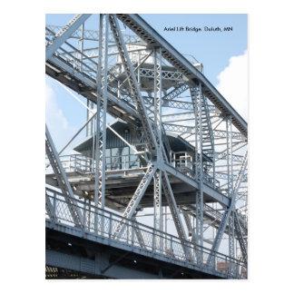 Carte Postale Soulevez Bridge2, pont d'ascenseur d'Ariel Duluth,