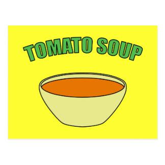 Carte Postale Soupe à tomate