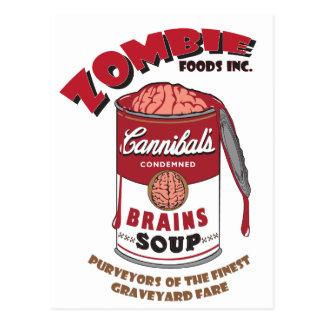 Carte Postale Soupe à zombi