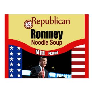 Carte Postale Soupe de nouilles de Romney