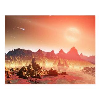Carte Postale Soupes chimiques à NASAs autour des étoiles
