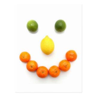 Carte Postale Sourire souriant d'agrumes