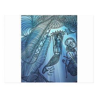 Carte Postale Sous la mer