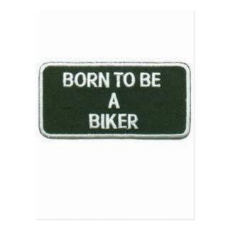 Carte Postale soutenu pour être un cycliste