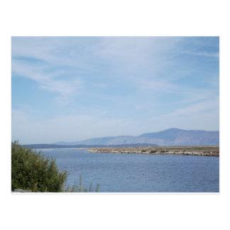 Carte Postale South End de lac klamath