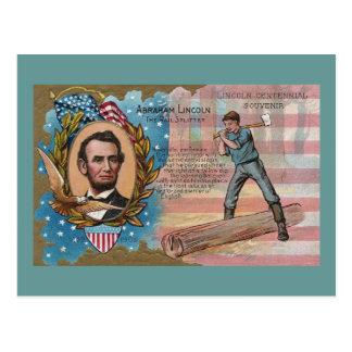 Carte Postale Souvenir de Centennial de rails de division d'Abe