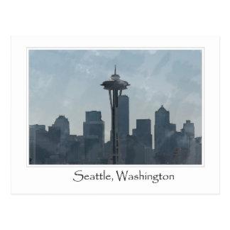 Carte Postale Souvenir du centre de cadeaux de Seattle