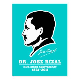 Carte Postale Souvenirs d'anniversaire de naissance de Dr. Jose