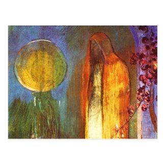 Carte Postale Sphère par Odilon Redon