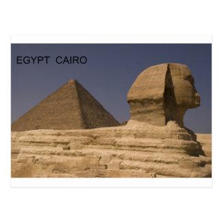 Carte Postale Sphinx de l'Egypte le Caire Gizeh (St.K)