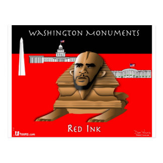 Carte Postale Sphinx Obama