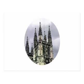Carte Postale Spirales o d'église de l'Angleterre Cantorbéry Le