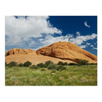 Carte Postale Spitzkoppe ou Spitzkuppe, montagne aride