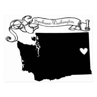 Carte Postale Spokane