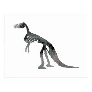 Carte Postale squelette de claosaurus