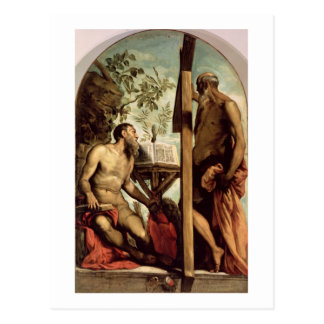 Carte Postale St Andrew et St Jerome