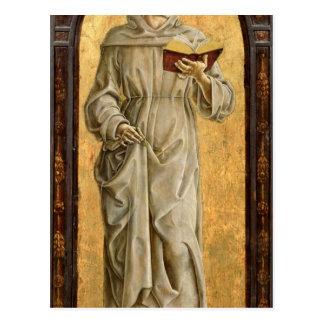 Carte Postale St Anthony de la lecture de Padoue