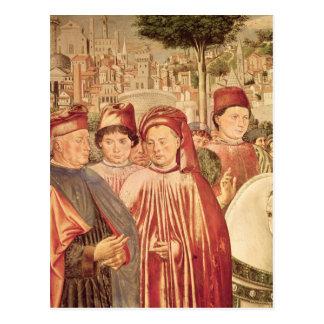 Carte Postale St Augustine partant pour Milan