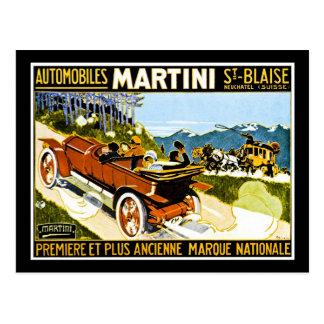 Carte Postale St Blaise d'automobiles de Martini