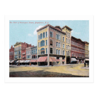 Carte Postale St de Washington, cru de Binghamton, New York