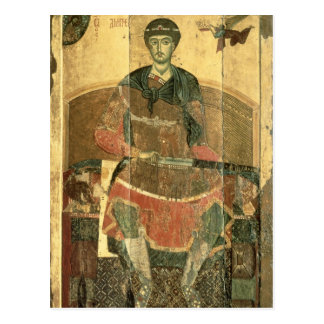 Carte Postale St Demetrius de Salonica, 12ème siècle