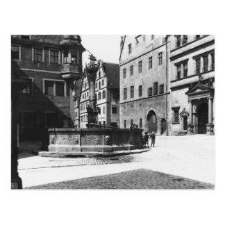 Carte Postale St Georgs- Brunnen