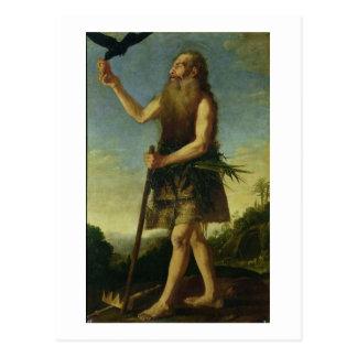 Carte Postale St Onuphrius (huile sur la toile)