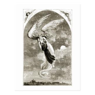 Carte Postale St Patrick a porté à Rome par l'ange, du 'Th