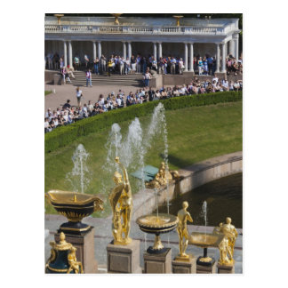 Carte Postale St Petersbourg, fontaines grandes 8 de cascade