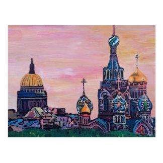 Carte Postale St Petersbourg II