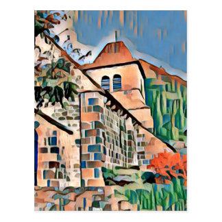 Carte Postale st vincent favela2