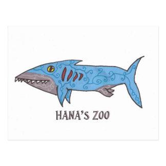 Carte Postale Stanley le requin