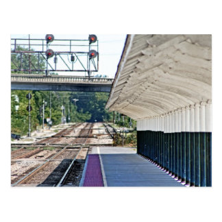 Carte Postale Station de train