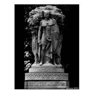 Carte Postale Statue d'aventure, DC de Washington