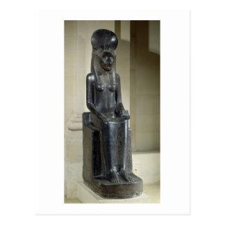 Carte Postale Statue de la déesse lion-dirigée Sekhmet, du Th
