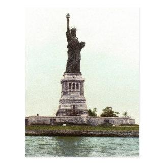 Carte Postale Statue de la liberté, 1900