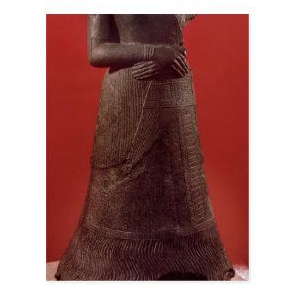 Carte Postale Statue de Napirasu, épouse de roi d'Elamite