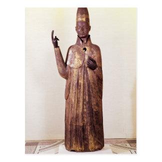 Carte Postale Statue de pape Boniface VIII 1301