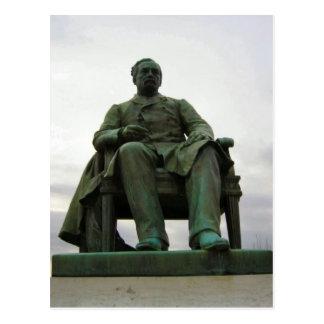 Carte Postale Statue de Pasteur, Arbois