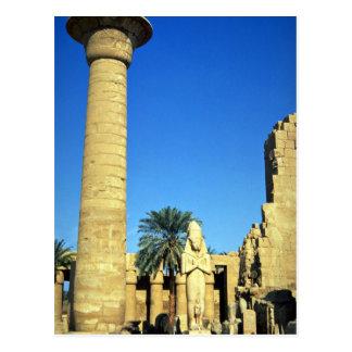 Carte Postale Statue de Pinodjem I, temple de Karnak, Egypte