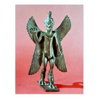 Carte Postale Statuette de Pazuzu, un démon assyrien de vent
