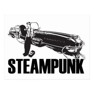 Carte Postale Steampunk