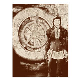 Carte Postale Steampunk Sylvia